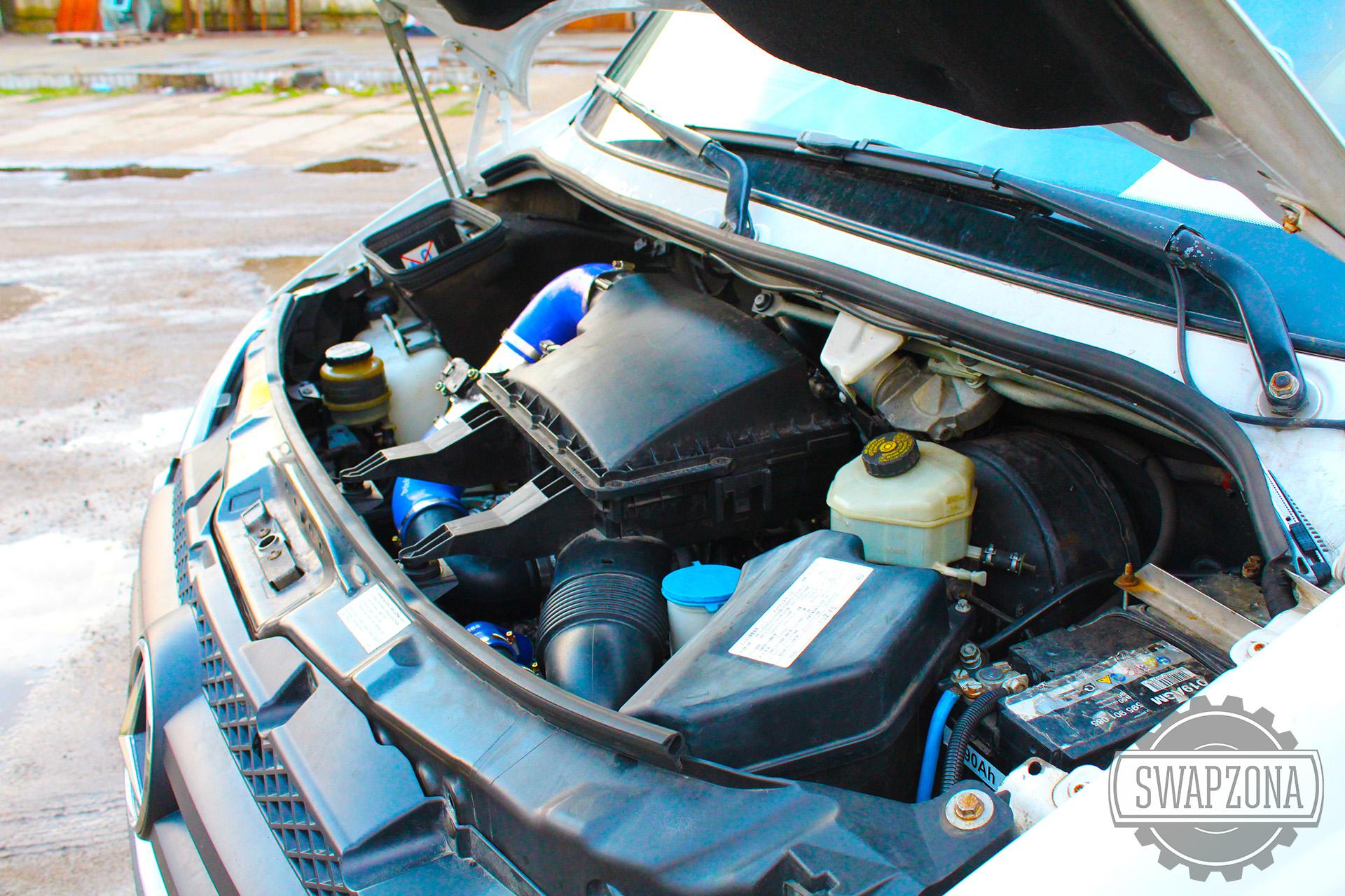 Мерседес Спринтер Автодом 3UZ-FE V8 4.3 свап замена двигателя Краснодар